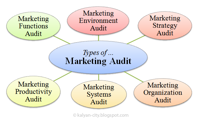 types of marketing audit