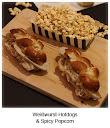 Weißwurst-Hotdogs & Spicy Popcorn