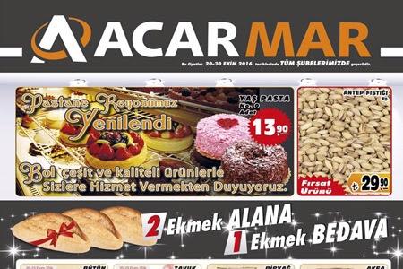 Acarmar 20-30 Ekim Aras�nda �zel �ndirimler