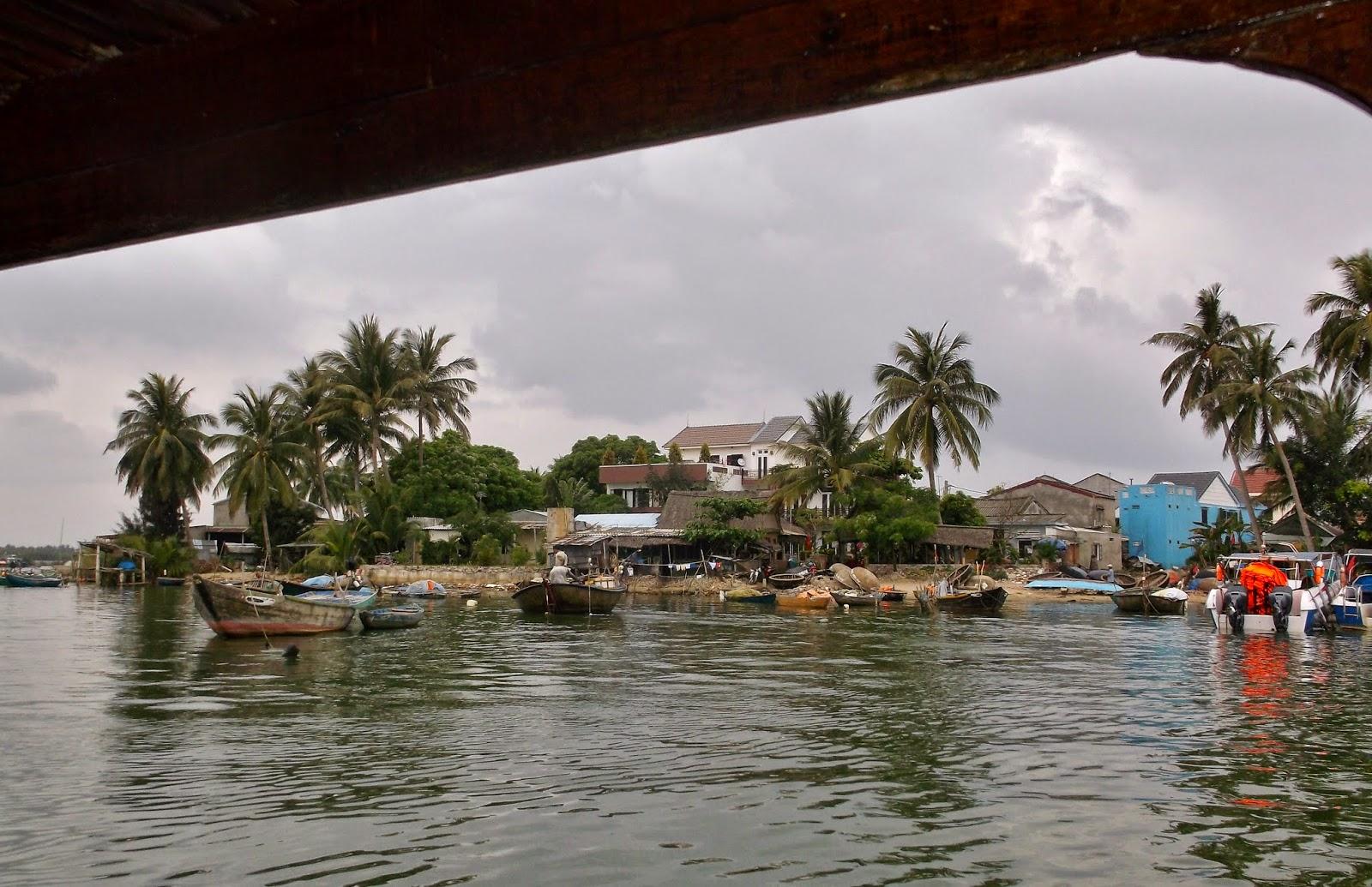 Cua Dai Habor view