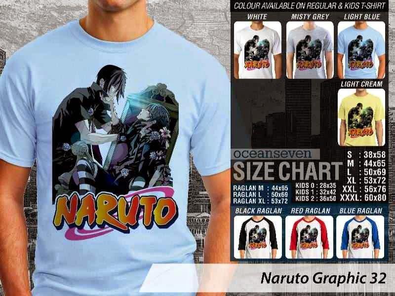KAOS Naruto 32 Manga distro ocean seven