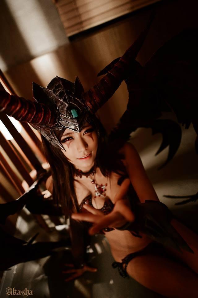 JDoll gợi cảm khi hóa thành Akasha trong Chaos Online - Ảnh 3