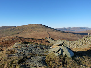 The Pike Summit ... looking to Hesk Fell