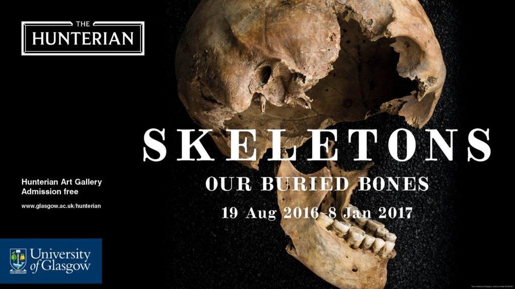 'Skeletons: Our Buried Bones' at the Hunterian Museum, Glasgow