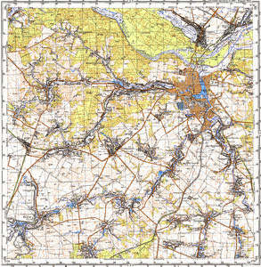 Map 100k--m36-100--(1989)