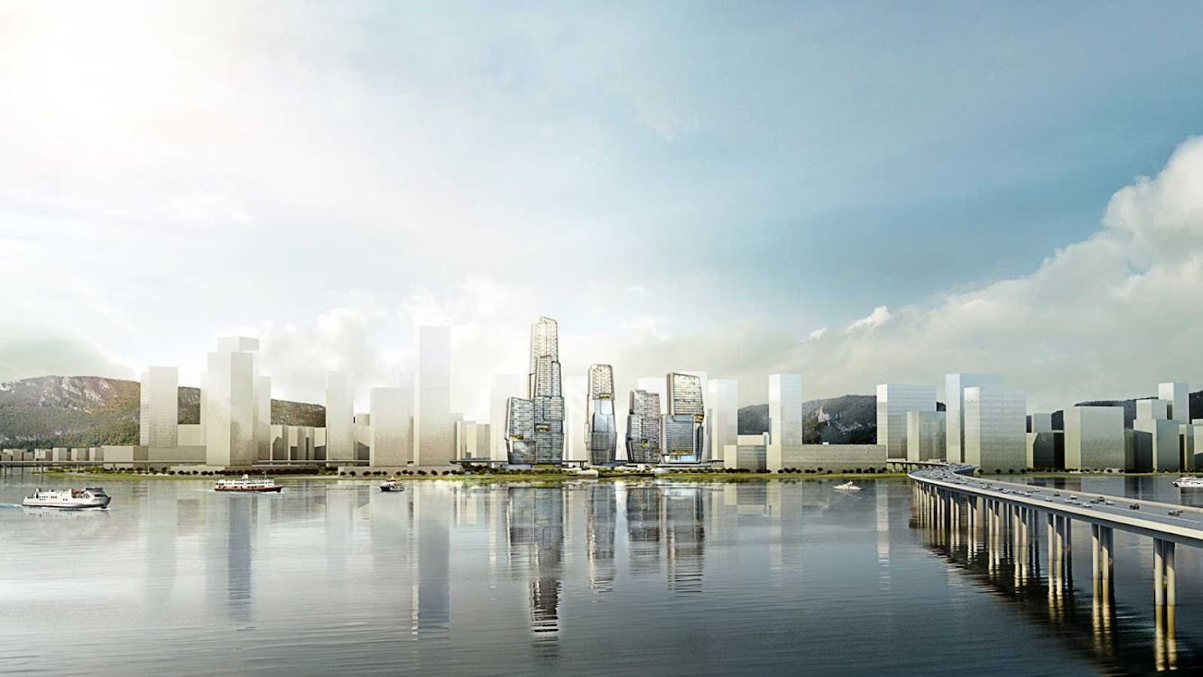 Yongjia World Trade Centre by Unstudio