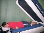 I decided to try the water massage machine...it was nice and relaxing