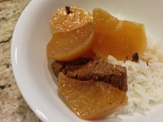Cantonese Braised Brisket with Daikon