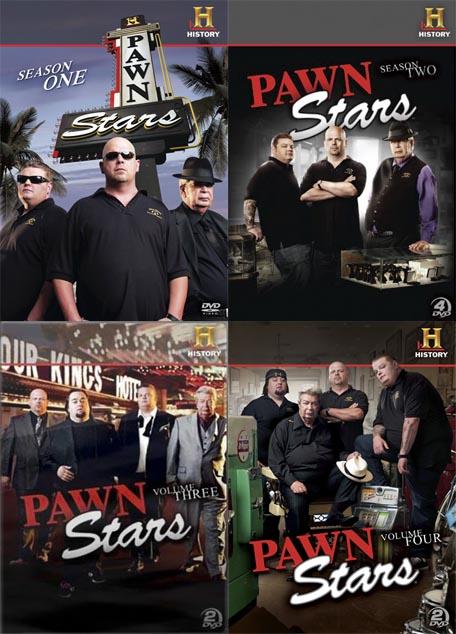 Gwiazdy Lombardu / Pawn Stars (Season 1,2,3,4) (2009-2010) PL.TVRip.XviD / Lektor PL