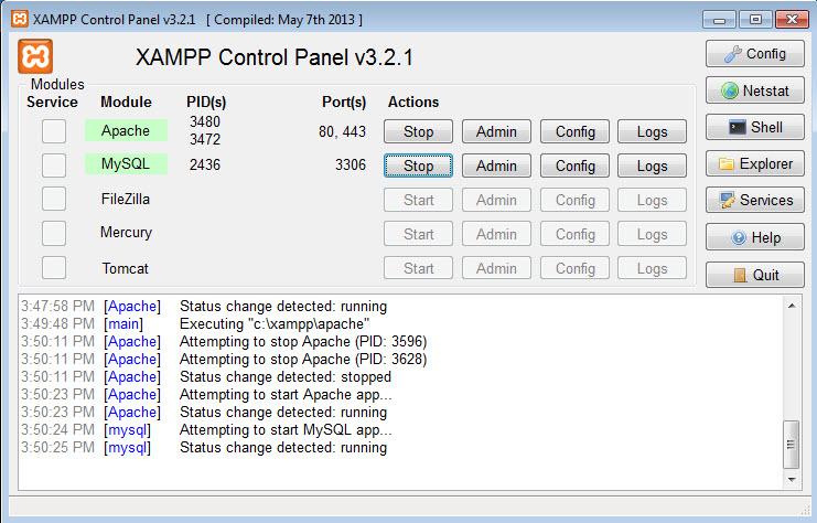 Hướng dẫn cài đặt server ảo bằng phần mềm Xampp