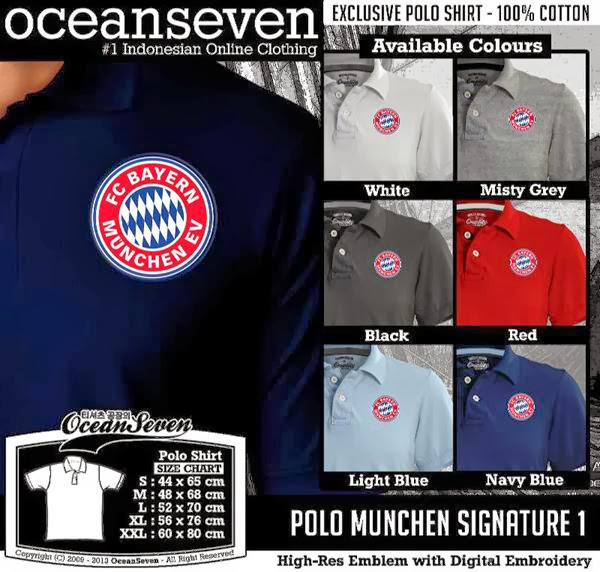 POLO Munchen Bayern Munich Signature distro ocean seven