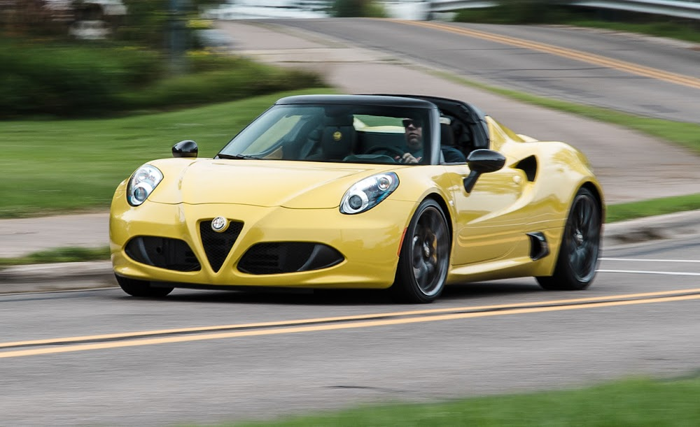 2015 Alfa Romeo 4C Spider Review Car Price Concept