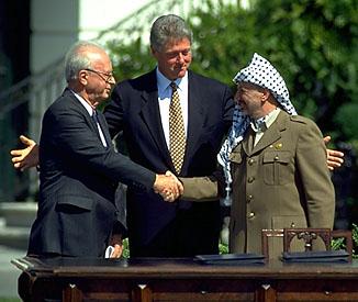 Yasser Arafat Oslo Accord