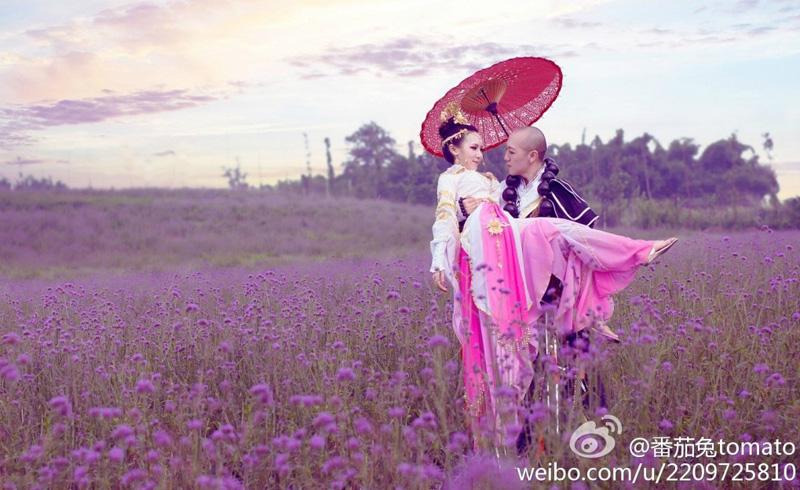 Mối tình thơ mộng của cặp đôi Thiếu Lâm và Thất Tú