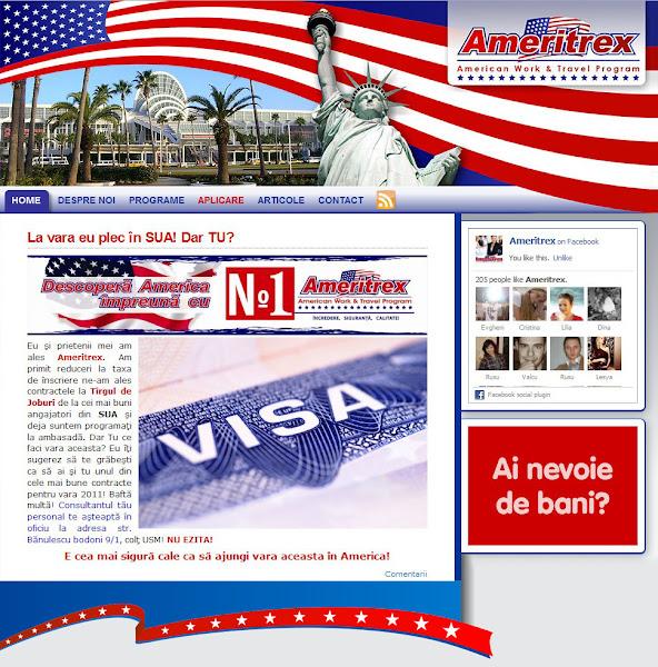 ameritrex.md - agenţie de recrutare Work and Travel USA