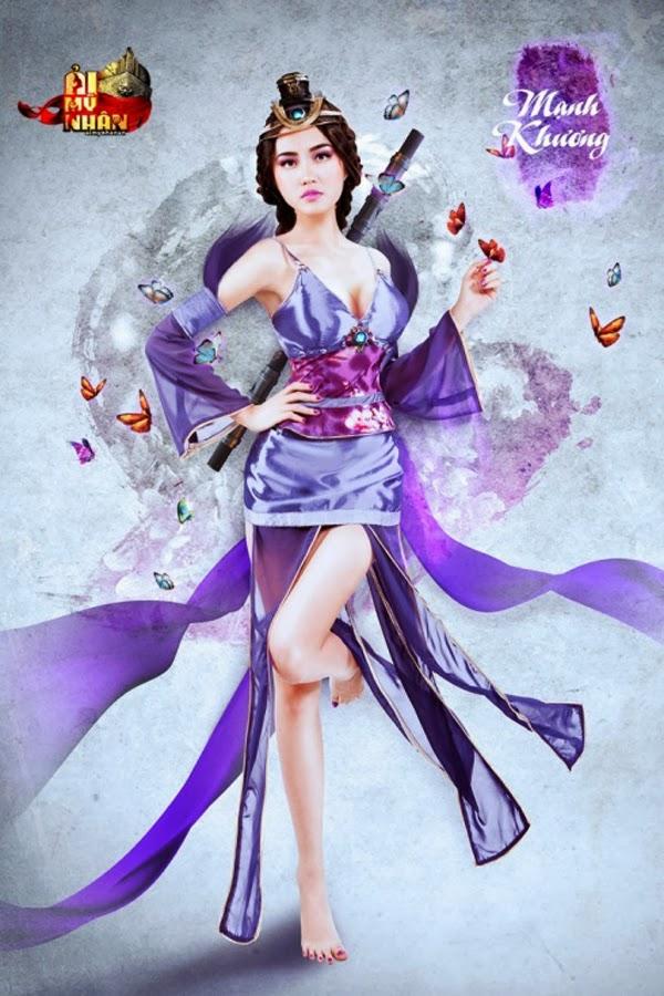 Ải Mỹ Nhân khoe cosplay nóng bỏng đón Closed Beta - Ảnh 10