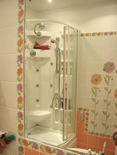 Дизайн стандартных ванных комнат с душевыми кабинами