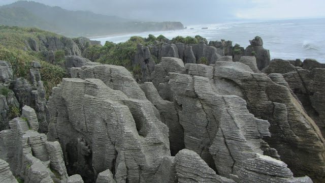 The Punakaiki Pancake Rocks and Blowholes