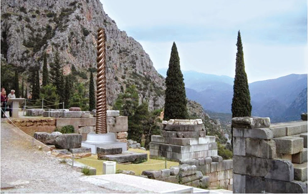 Replica of 'Serpent Column' to be erected at Delphi