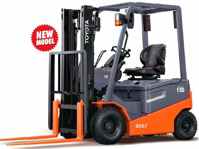 Toyota Battery Forklift 8FBN