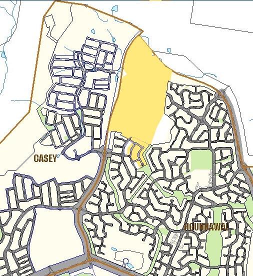 ngunnawal map