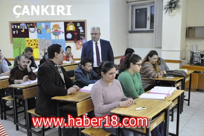 Çankırı'da Engellilere Yönelik KPSS Kursu Açıldı