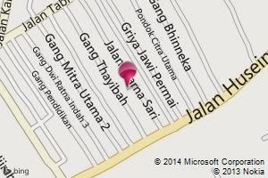 Bing Map Warnasari 17