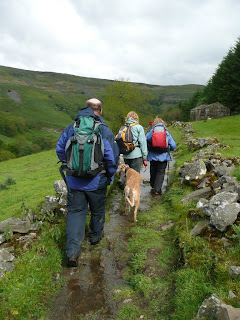 A wet path back to Muker