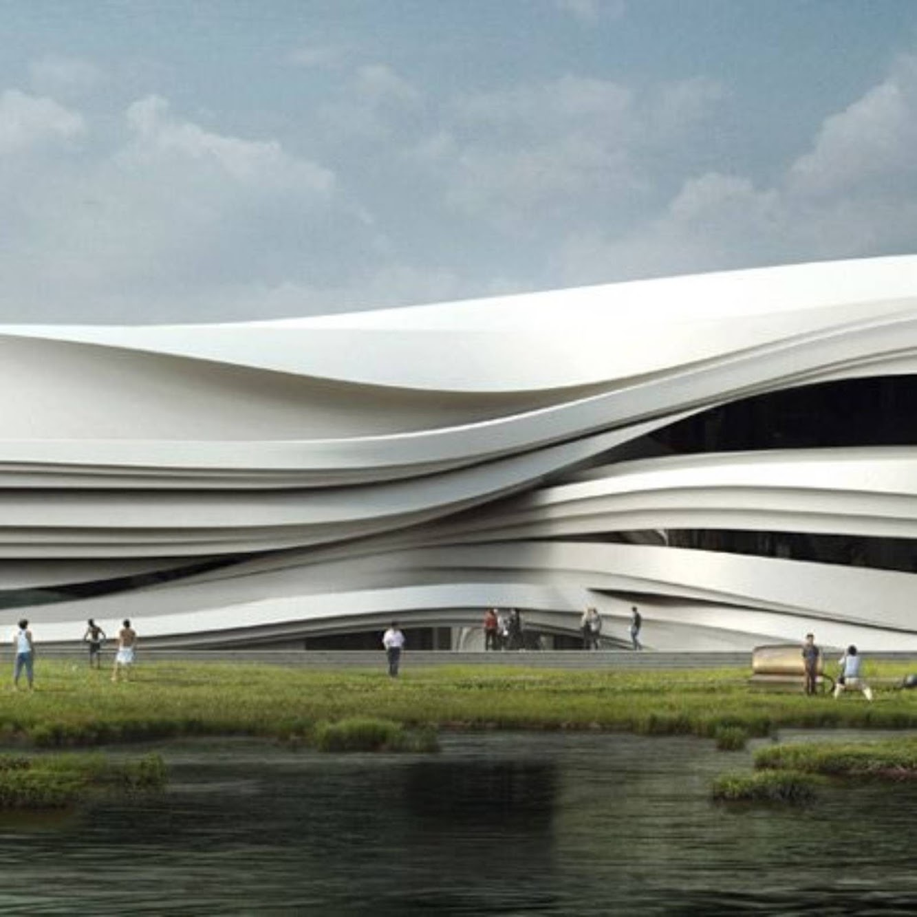 Yellow River Arts Centre by Waa