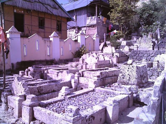 kompleks makam maraqdia parappe majene sulbar