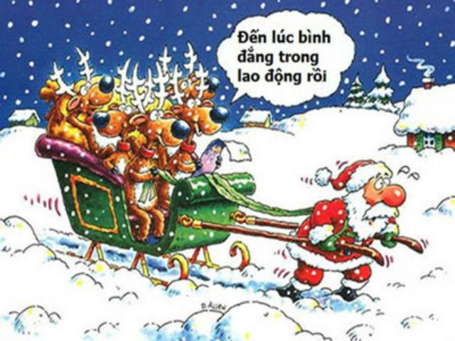 Ảnh chế ông già Noel trong đêm giáng sinh hài bá đạo