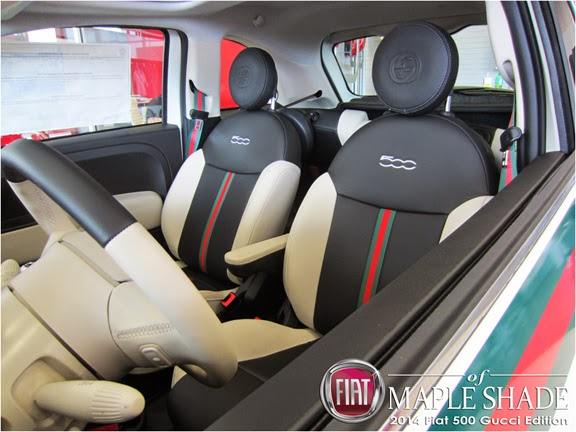 Philadelphia: 2014 Fiat 500 Gucci Edition | MSRP $23,750 | Call 866-393-4274 today!