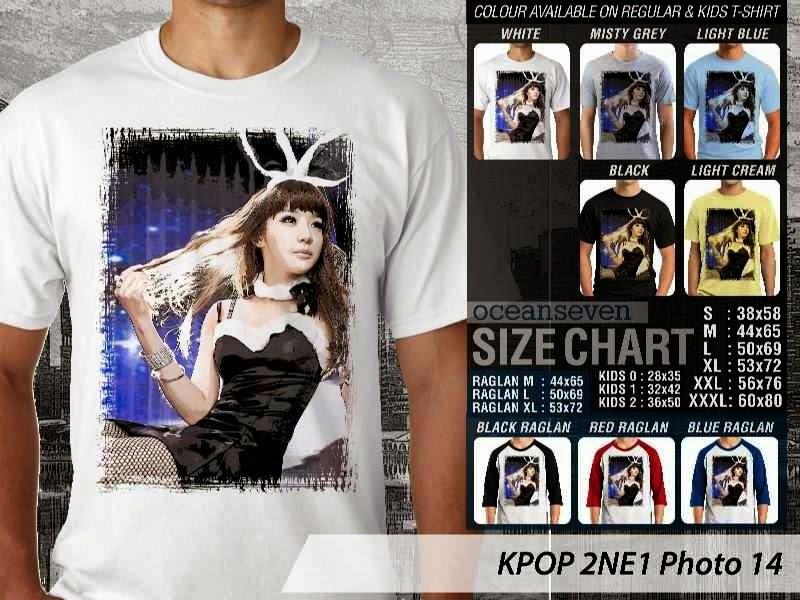 Kaos 2ne1 14 Photo K Pop Korea distro ocean seven