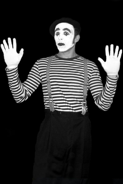 mime in box