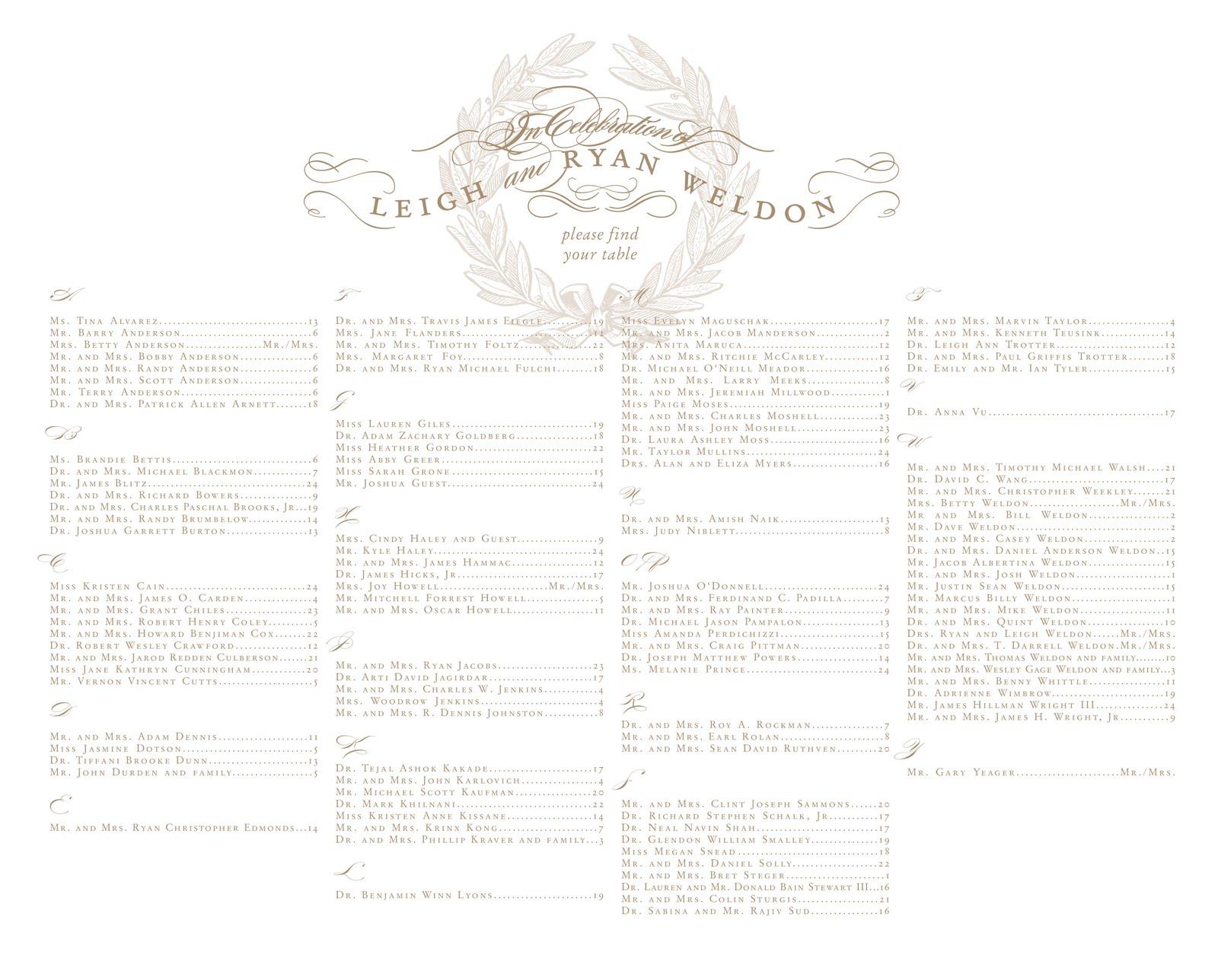 wedding seating chart, wedding nl weddings venues
