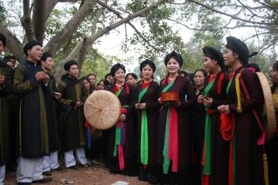 Thơ hay về quan họ Kinh Bắc