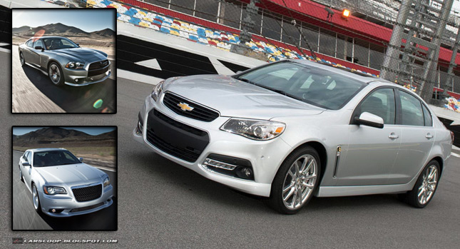2014 Chevrolet SS Poll: 2014 Chevrolet SS vs. Dodge Charger vs. Chrysler 300