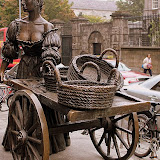 Molly Malone, The Trollup With the Scallop -- Dublin, Ireland