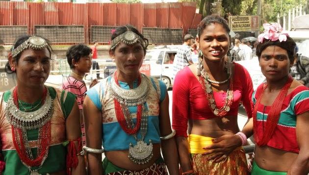 Artisans from Newari Community during Gau Jatra, Kathmandu