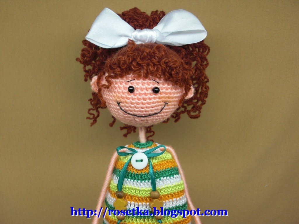 Как вязать Интерьерную куклу Промокашку