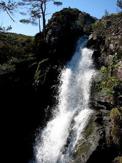 Waterfall - Allt Coir a Ghiubhsachain
