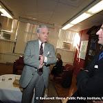 Ervin Duggan (center) and Mark Updegrove (right)