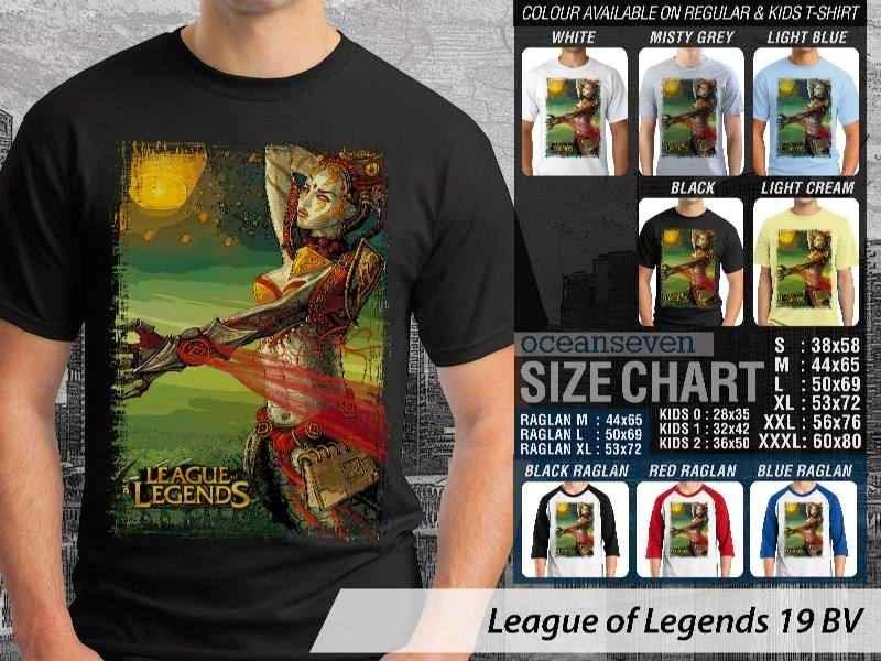 Kaos Game Online League of Legends 19 distro ocean seven