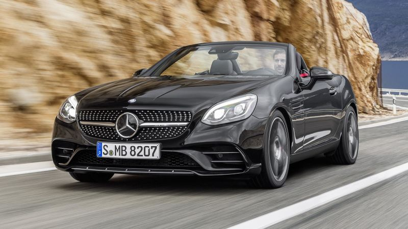 2017 Mercedes SLK Redesign Car Review Specs