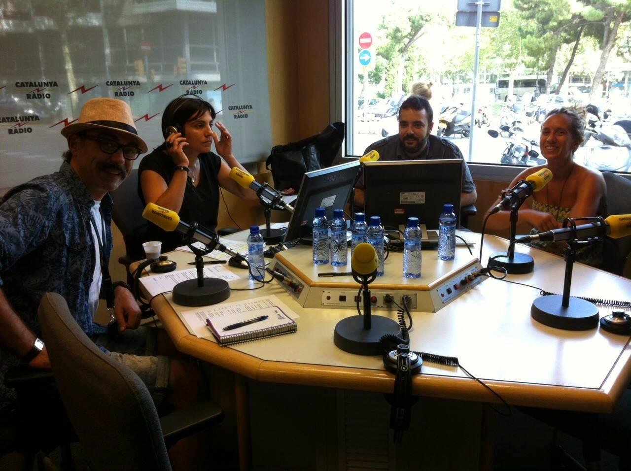 8 dies, entrevista, Catalunya Radio, Casamitjana 15, Mejor en casa