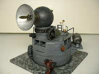 Sonic cannon projector Mad Science war game terrain and scenery