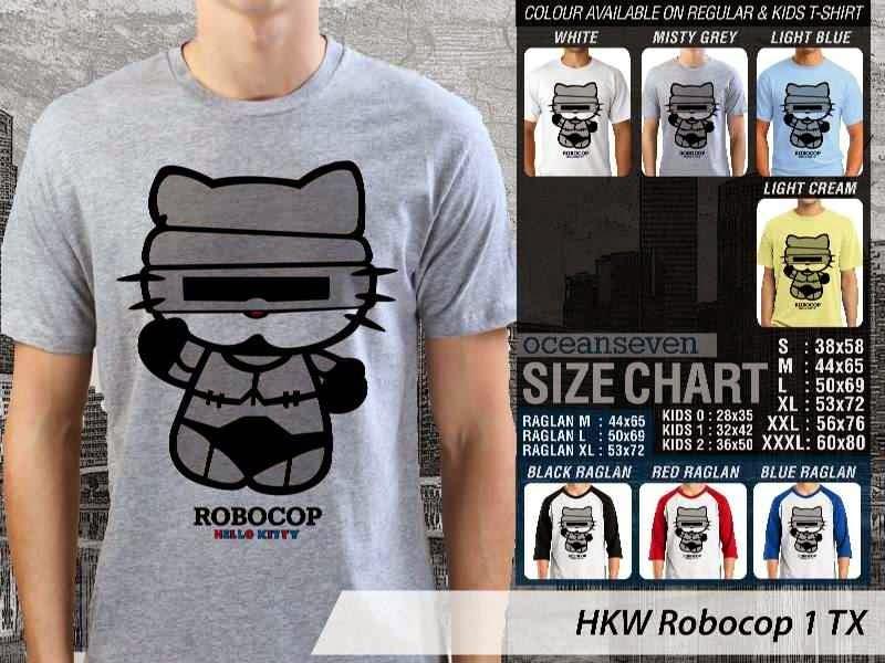 Jual Kaos kartun lucu Robocop 1 distro ocean seven