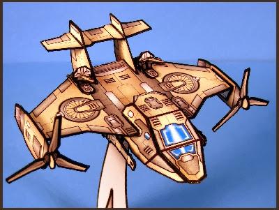 Armor Grid: Air Brigade-Tilt Rotor Cargo Aircraft
