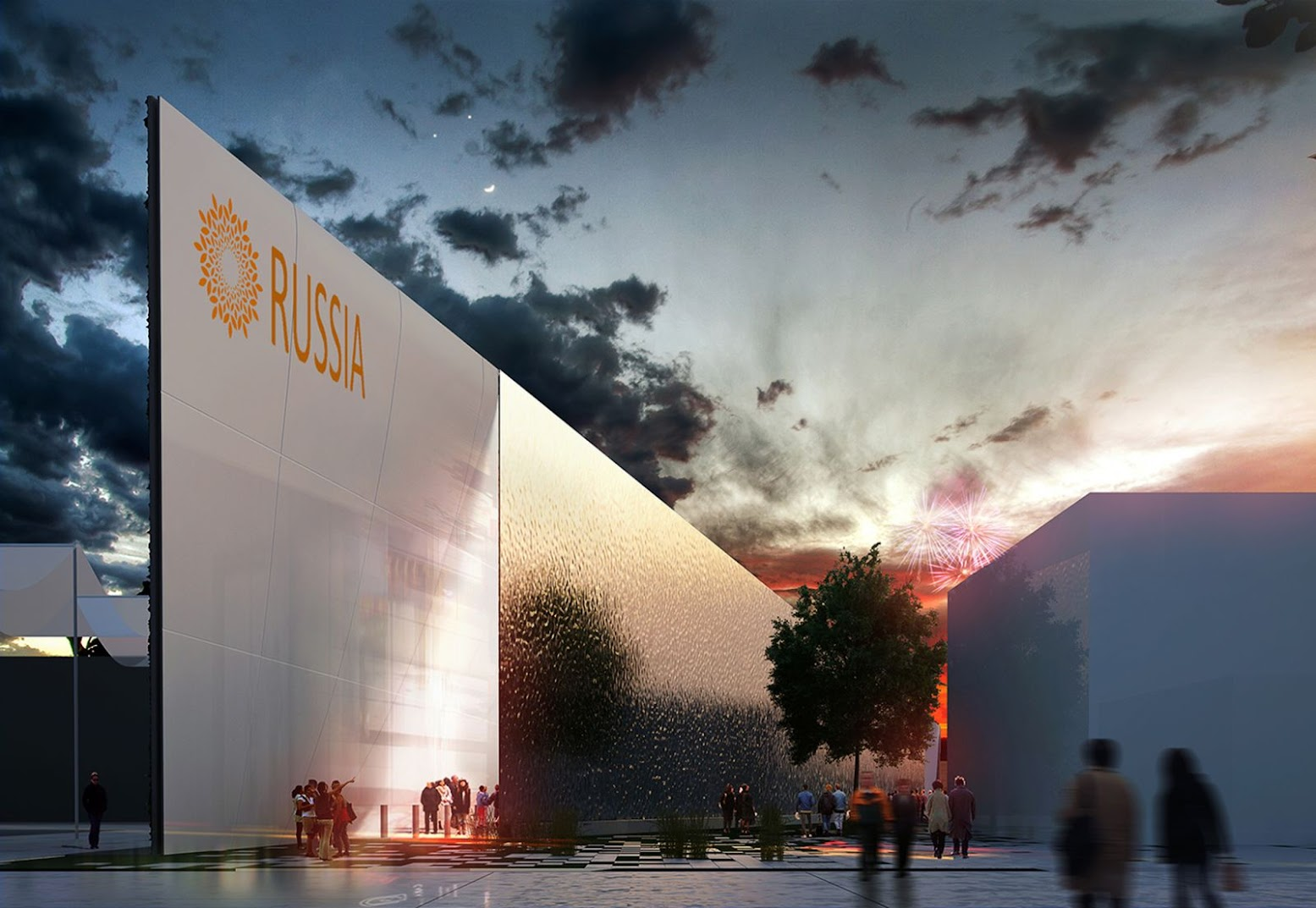 Milano, Italia: [RUSSIAN PAVILION EXPO 2015 BY ARCHITECTS OF INVENTION]