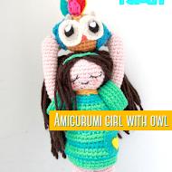 Amigurumi Owl Girl